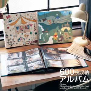 アルバム 写真 ディズニー 大容量 収納 600枚 台紙 おしゃれ プレゼント かわいい 誕生日 L...