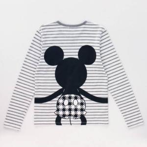 ディズニー ボーダープリント長袖Tシャツ(メンズ) S〜3L|bellemaison