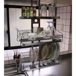 つっぱりキッチンラック 「棚3段」...
