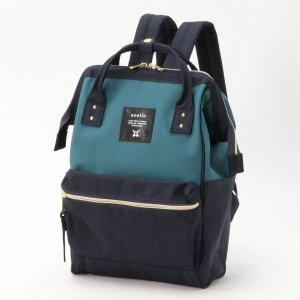 e022abd202fb バッグ カバン 鞄 レディース リュック がま口デザインリュックサック カラー ブルー系
