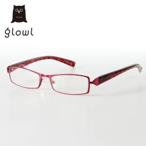 glowl/グロウル スクエア型リーディンググラス +1.0〜+3.0