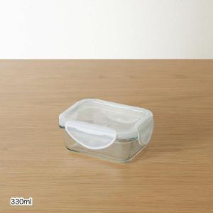 キャニスター 保存容器 ベルメゾンデイズ しっかり密閉できる耐熱ガラスの保存容器 330ml