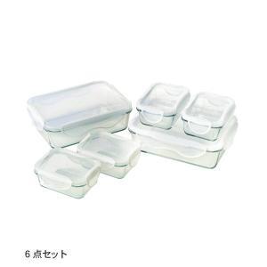 キャニスター 保存容器 しっかり密閉できる耐熱ガラスの食品保存容器