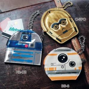スター・ウォーズ メタリックポーチ 「R2―D2〜BB―8」...