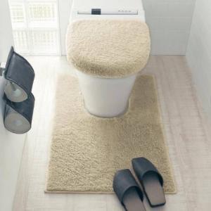 BELLE MAISON DAYS トイレのニオイに特化した消臭トイレマット・フタカバー[日本製] 「標準(マット単品)」の写真