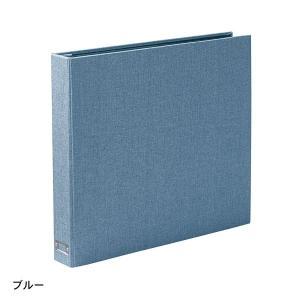 アルバム 大容量 布張り 600枚 ブルー L版 ディスクポケット シンプル CD DVD 写真 大量 容量 大 思い出 整理 ベルメゾン PayPayモール店