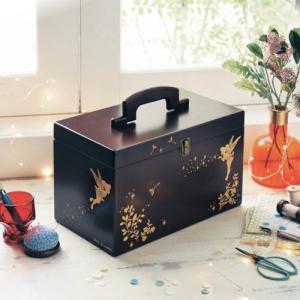 ディズニー 木製裁縫箱/ティンカー・ベル...