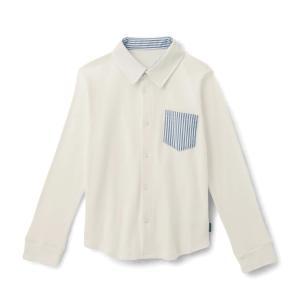 子供 フォーマルウェア 小物 GITA ジータ 長袖シャツ オフホワイト 80 90 100 110...