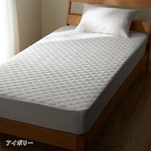 ボックスシーツ 敷きパッド 一体型 寝具 綿100% ベッド カバー ボックス 敷 パッド シーツ ...