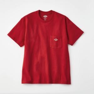 DANTON/ダントン メンズレディース ポケットTシャツ 34(レディースM)〜40(メンズM)|bellemaison