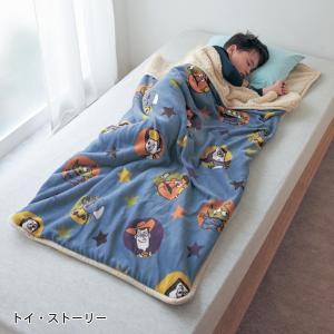 毛布 ディズニー マイクロファイバーのつつ毛布(R)【一部先行販売】 「トイ・ストーリー」|bellemaison