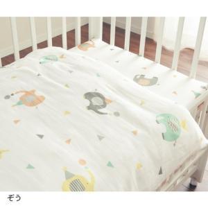 ベビー寝具 オーガニック素材を使用した綿100%の2重ガーゼ...