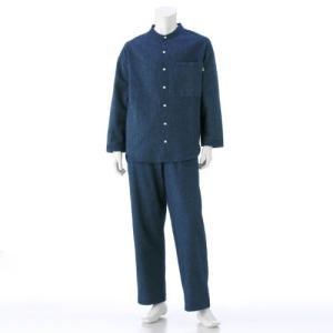 BELLE MAISON DAYS オーガニックコットンを使ったふっくらフランネル長袖パジャマ(メンズ) M〜3L bellemaison