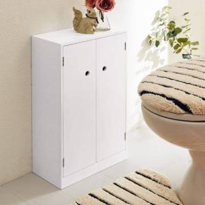 薄型トイレ収納ラックの写真