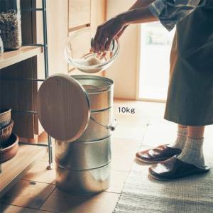 BELLE MAISON DAYS 檜蓋の米びつ[日本製] ...