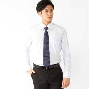 メンズ ノーアイロン速乾長袖ボタンダウンシャツ【S〜3L】 「サックス」 bellemaison