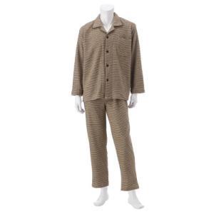 メンズ 肩腰足首あったか裏起毛長袖パジャマ M〜3L|bellemaison