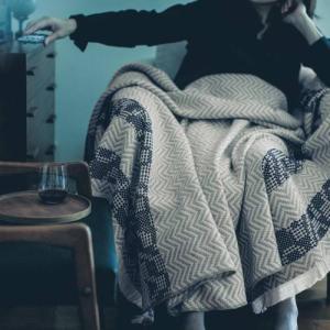 BELLE MAISON DAYS 豊かな時間を味わう。コットンウール4重ガーゼケット[日本製] 「約70×180」