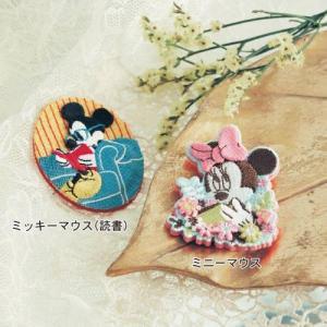 ディズニー 刺繍ブローチ...