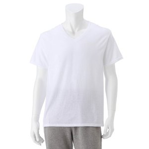 ヘインズ 3枚組VネックTシャツ M〜3L bellemaison