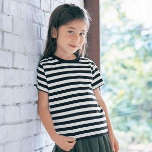 529dfe5aba52b5 子供服 Tシャツ GITA ジータ 半袖Tシャツ 通園 通学 綿 おしゃれ 女の子 男の子 オフホワイト 70 80 90 100 110 120  130