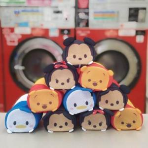 ディズニー ポーチのような洗濯ネット/ディズニー ツムツム 「ミッキーマウス〜くまのプーさん」