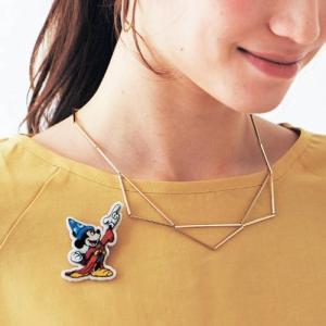 ディズニー 刺繍ブローチ/Walt Disney Fanta...