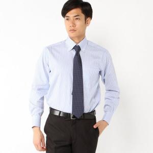メンズ レギュラーシルエット・形態安定ボタンダウンドレスシャツ【M〜LL】 「ブルー」 bellemaison