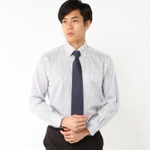 メンズ レギュラーシルエット・形態安定ボタンダウンドレスシャツ【M〜LL】 「ネイビー」 bellemaison