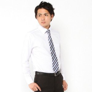 メンズ 形態安定オックスボタンダウンドレスシャツ【M〜LL】 「ホワイト」 bellemaison