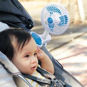 扇風機ベビーカー・暑さ対策に...