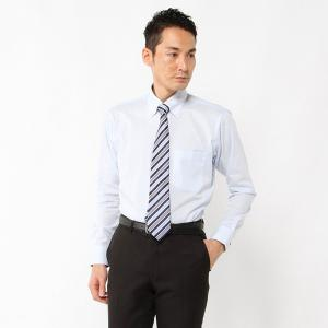 メンズ 形態安定・防臭・スッキリシルエットボタンダウンビジネスシャツ【S〜LL】 「ブルー」 bellemaison