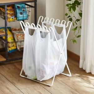 トリコレ/ToriCore 折りたためる分別ゴミ袋スタンドの写真