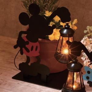 ディズニー シルエットのソーラーライト ミッキーマウス|bellemaison