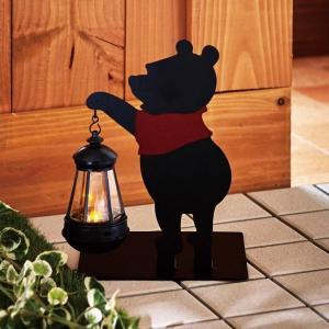 ディズニー シルエットのソーラーライト くまのプーさん|bellemaison