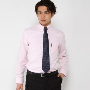 メンズ オックスフォードシャツ【M〜LL】 「ピンク」|bellemaison