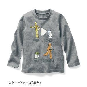 子供服 おしゃれ Tシャツ  スターウォーズ 長袖Tシャツ スター・ウォーズ(集合)|bellemaison