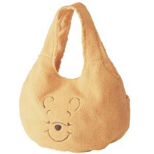 バッグ カバン 鞄 レディース トートバッグ 手提げバッグ ディズニー もこもこバルーン型トートバッグ カラー くまのプーさん イエロー系 bellemaison