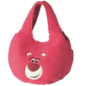 バッグ カバン 鞄 レディース トートバッグ 手提げバッグ ディズニー もこもこバルーン型トートバッグ カラー ロッツォ ハグベア ピンク系 bellemaison