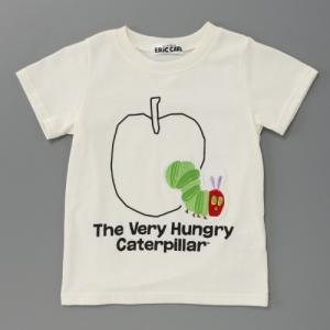はらぺこあおむし ベビー・子供服 男の子・女の子リンゴ柄半袖...