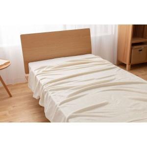 毛布 寝具 ベッド モフア mofua 洗える あったか アイボリー セミダブル