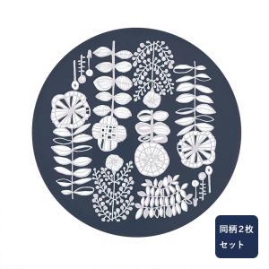 IH焼け焦げ防止マット同柄2枚セット 北欧風デザイン カラー 「植物柄」|bellemaison