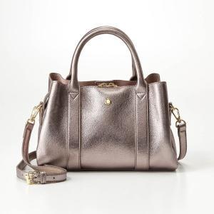 ef275770ae87 バッグ カバン 鞄 レディース 1枚革風フェイクレザー2WAYボストントートバッグ カラー 「シルバー」