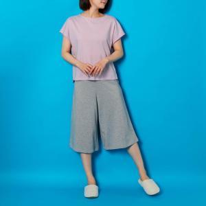 パジャマ ルームウェア 部屋着 上下セット レディース 大きいサイズ 夏用 汗取り ひんやり 綿混 吸汗 速乾 薄手 さらさら 4L 5L|bellemaison