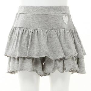 68296fa33d03bf 子供服 おしゃれ パンツ ティアードパンツ【ベビー服・子供服・女の子】 「グレー」