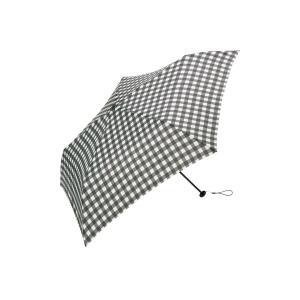傘 雨傘 超軽量!柄が選べる折り畳み傘 カラー 「ギンガム」