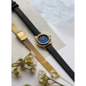 腕時計 レディース ベーリング  BERING Ladies Changes Leather&Mesh 2ストラップセット 11119-437  日本正規代理店品|bellemessage
