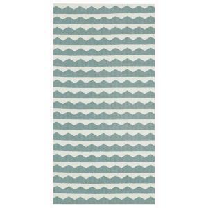 ラグ プラスチックラグ 北欧 BRITA SWEDEN ブリタ スウェーデン ギッタン ウォーター 70x150cm 13-91502 日本正規代理店品|bellemessage