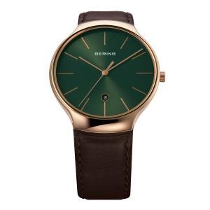 腕時計 メンズ ベーリング  BERING Pair Collection Infinity 13338-569 インフィニティ ペアウォッチ 日本限定カラー  日本正規代理店品|bellemessage