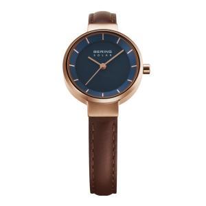 腕時計 レディース ベーリング BERING Scandinavian Solar 14627-567 スカンジナビアンソーラー ストラップカラー:ブラウン  日本正規代理店品|bellemessage